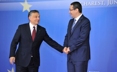 Victor Ponta si Viktor Orban