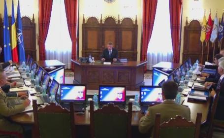 Klaus Iohannis, dupa sedinta CSAT: \