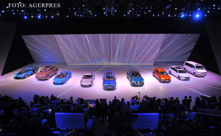 salon auto Frankfurt, prezentarea grupului Volkswagen
