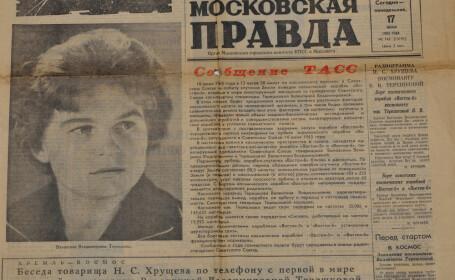 Valentina Tereskova in Pravda