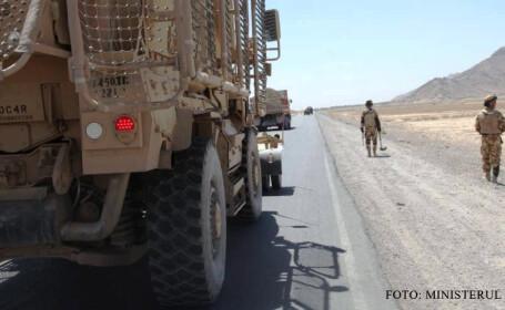 militari romani din batalionul 811 in Afganistan