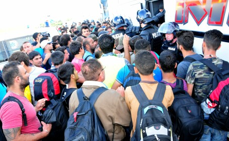 refugiati, europa - agerpres