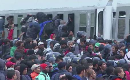 refugiati in trenuri