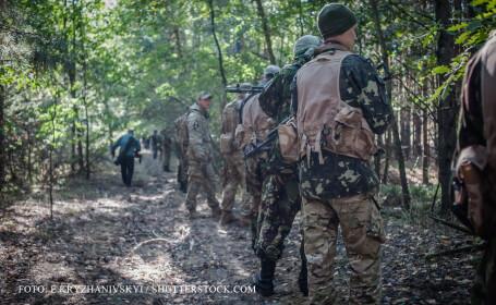 Ucraina a infiintat o brigada pentru a se apara de \