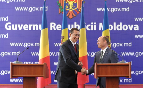 Victor Ponta, Valeriu Strelet - AGERPRES