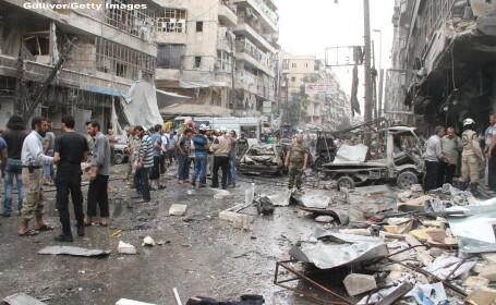 Imagini SOCANTE din Alep, orasul sirian bombardat de Bashar al-Assad. Razboiul civil, surprins cu o camera GoPro. VIDEO
