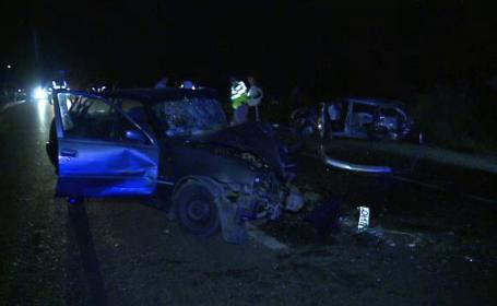 Un barbat a murit si 6 persoane au fost ranite intr-un grav accident din Buzau. Cine conducea masina lovita pe contrasens