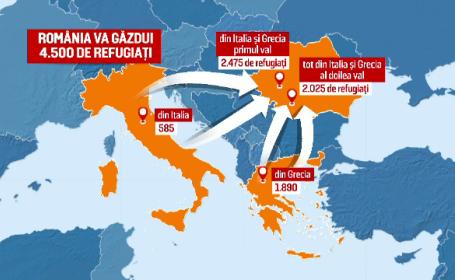 harta refugiati