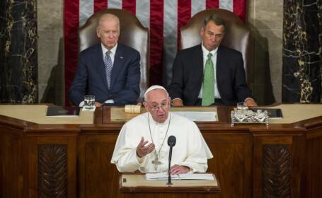 Papa Francisc in Congresul SUA - AGERPRES
