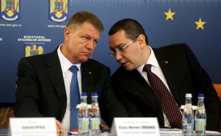 Klaus Iohannis a primit demisia premierului. Victor Ponta: \