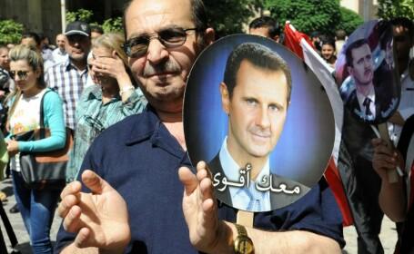 Sustinatori Bashar al-Assad