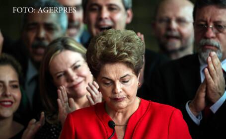 Criza politica in Brazilia: prima femeie presedinte din istoria tarii a fost demisa de Senat. \