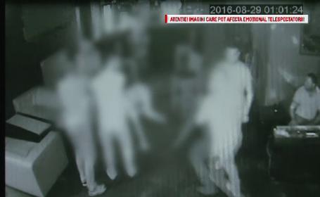 Camerele scot la lumina detalii revoltatoare in cazul crimei din club. Ce au facut clientii in timp ce bodyguardul era ucis