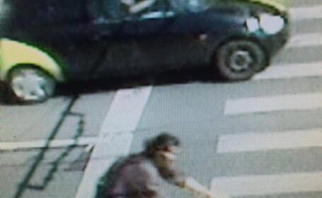 Politistii din Cluj cauta un biciclist care a lovit garv o femeie pe trecerea de pietoni si a fugit
