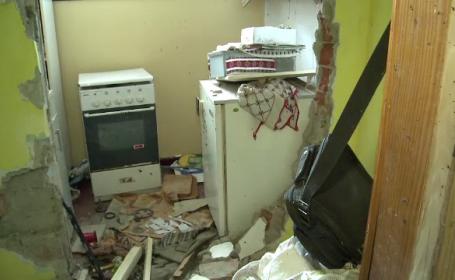 Explozie puternica produsa intr-un bloc din Focsani. O femeie de 74 de ani a suferit arsuri grave si a fost dusa la spital