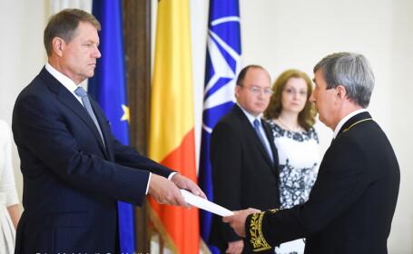 Klaus Iohannis, Valeri Kuzmin - COTROCENI