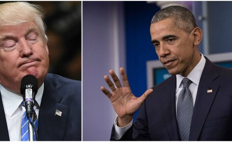Donald Trump, Barack Obama - GETTY