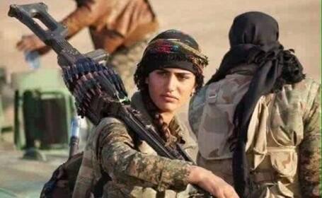luptatoare Kurdistan