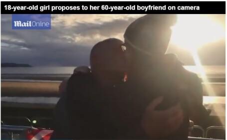 O adolescenta de 18 ani a cerut in casatorie un barbat care putea sa-i fie bunic. Cu ce se ocupa viitorul mire. VIDEO