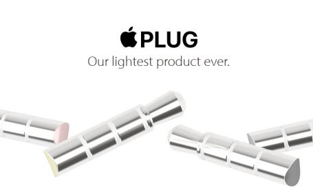 Apple Plug - parodie la iPhone 7