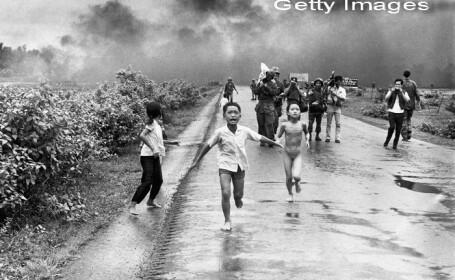 fetita napalm Vietnam - Getty