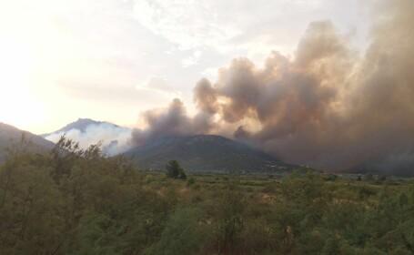 incendiu Thasos