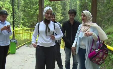 turisti straini in Romania