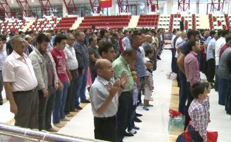 Doua mii de musulmani s-au strans pentru a sarbatori Kurban Bayramul: \