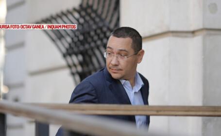 Victor Ponta se prezinta la sediul Inaltei Curti de Casatie si Justitie