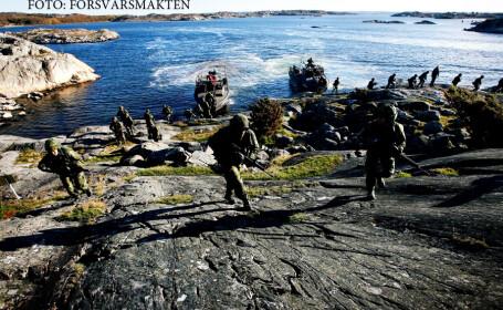 Suedia ia masuri de aparare impotriva Rusiei. \