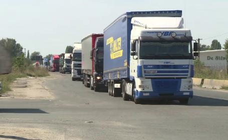 Protest cu peste 500 de autocare și microbuze, anunțat astăzi în București