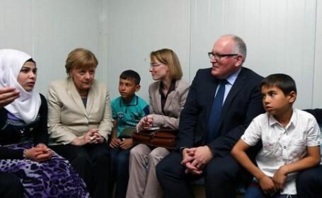 Merkel refugiati