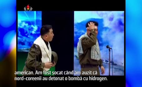 Coreea de Nord ii ironizeaza pe marii lideri ai lumii, intr-o satira la televizor. Cum s-a amuzat pe seama lui Barack Obama