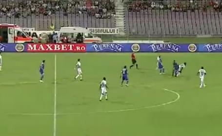 Un spectator a facut stop cardiac la meciul ACS Poli Timisoara - Steaua Bucuresti. Barbatul a fost dus de urgenta la spital