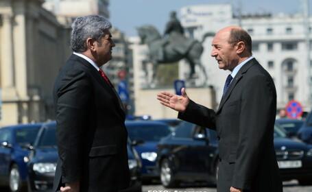 Gabriel Oprea, Traian Basesccu