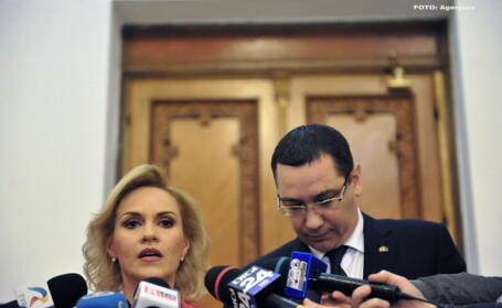 Gabriela Firea, Victor Ponta