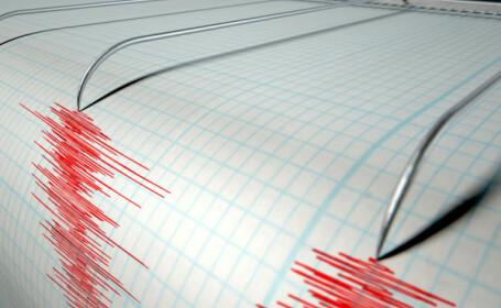 Cutremur cu magnitudinea 3,8, produs in Vrancea, duminica dimineata. Adancimea la care s-a produs seismul