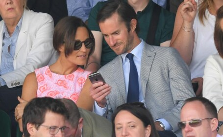 Pippa Middleton si logodnicul ei