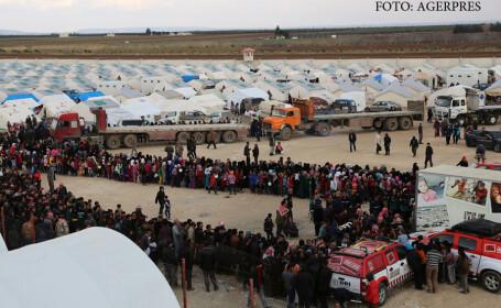tabara de refugiati in Turcia, in orasul Kilis