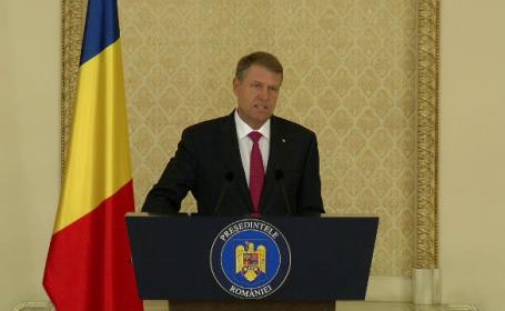 Raspunsul dat de Klaus Iohannis lui Tariceanu, privind numirea noului prim-ministru. \