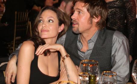 Angelina Jolie si Brad Pitt - Getty