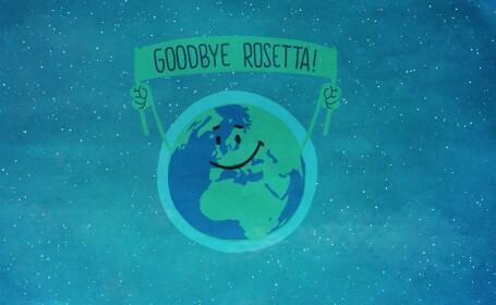 Final de drum pentru Rosetta, prima sonda care a aterizat vreodata pe o cometa. Vestea a fost primita cu aplauze. VIDEO