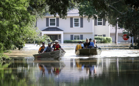 inundatii dupa uraganul Harvey