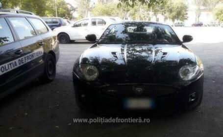 Jaguar furat din Italia