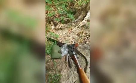Un jandarm şi-a împuşcat, din greşeală, un coleg în timpul unei partide de vânătoare
