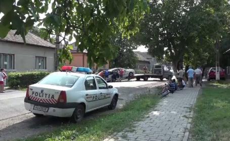 Șofer ucis într-un accident petrecut chiar în fața casei sale, în Mureș