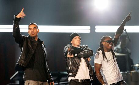 Drake, Eminem, Lil Wayne