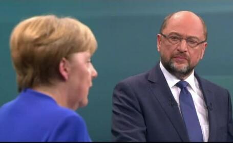 dezbatere Angela Merkel - Martin Schulz