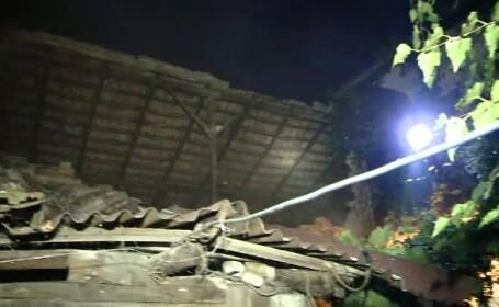 O casă veche era să cadă peste copiii vecinilor, în Timişoara