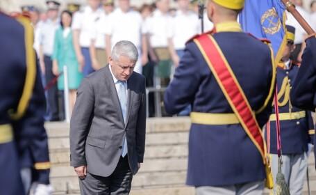 Ministrul Apărării Naționale, Adrian Țuțuianu, participă la festivitatea de absolvire a promoţiei 120 'Mărăşti, Mărăşeşti, Oituz - 100' a facultăţilor de comandă şi stat major şi de securitate şi apărare şi a seriei a XXVIII-a